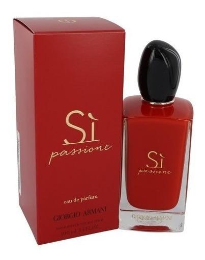 Perfume Original Giorgio Armani Si Passione Edp 100ml