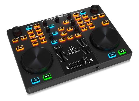 Controlador Dj Behringer Cmd Studio 2 A Usb 2 Anos Garantia