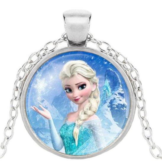 Choker Gargantilha Colar Feminino Frozen