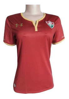 Camisa Under Armour Fluminense 3 2017 Grená - Feminina