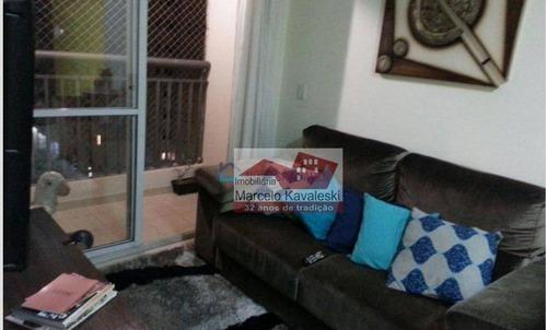 Apartamento Com 2 Dormitórios À Venda, 51 M² Por R$ 300.000,00 - Ipiranga - São Paulo/sp - Ap13125