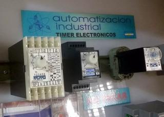 Temporizador Electrónico Automatización Industrial Mod S