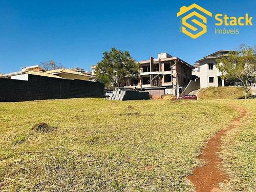 Excelente Terreno No Condomínio  Terras De São Carlos Em Jundiai - Sp.  É Um Condomínio De Alto Padrão, Contendo Uma Portaria Blindada, Área De Lazer - Te00858