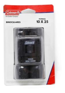 Binoculares 10x25 Incluyen Funda Negro Coleman 2000000994