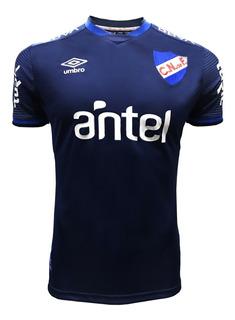 Camiseta Nacional Azul Adulto 2019 Hincha Con Sponsors