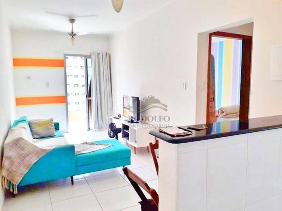Guarujá Pitangueiras 1 Dormitório Com Sacada , 1 Vaga No Prédio, Elevador, Salao De Festas. - Ap0925