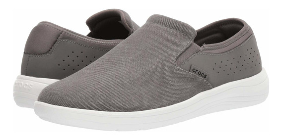Tenis Hombre Crocs Reviva Canvas Slip-on N-1906