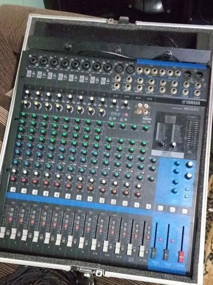 Mesa De Som Yamaha Mg16 Xu