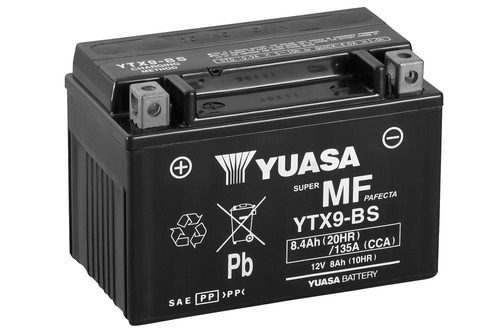Bateria Yuasa Ytx9-bs Indonesia Incluye Acido