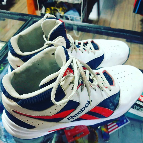 Zapatillas Reebok Basketball Foam Usa Talle 12 Us