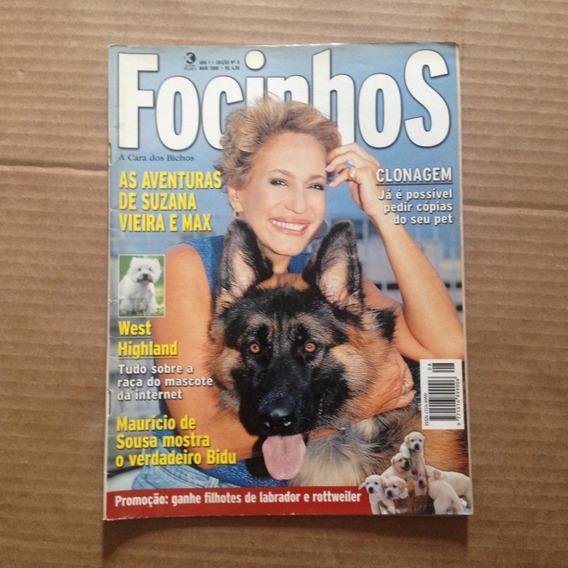 Revista Focinhos N8 Maio 2000 Suzana Vieira Mauricio Bidu T2