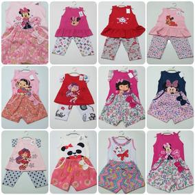 Promoção Kit 12 Roupas Infantil Bebe Menina 0123anosatacado
