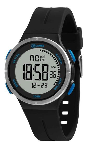 Relógio X Games Masculino Xmppd583 Bxpx Preto - Refinado