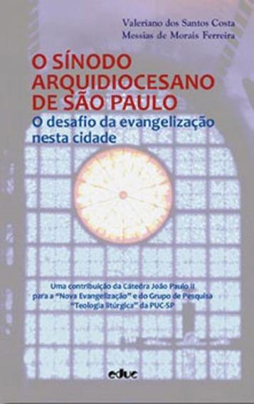 Sinodo Arquidiocesano De Sao Paulo, O