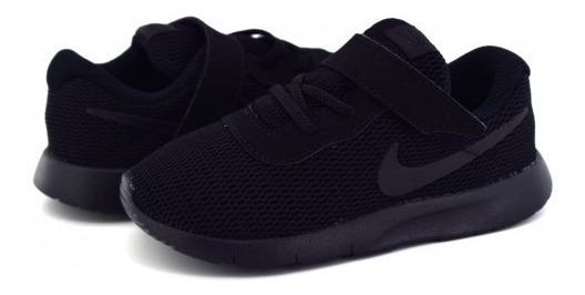 Tenis Nike Tanjun Negro Bebe Niño 818383-001 Nkjr21 10-16