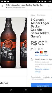 Cerveja Capitão Senra