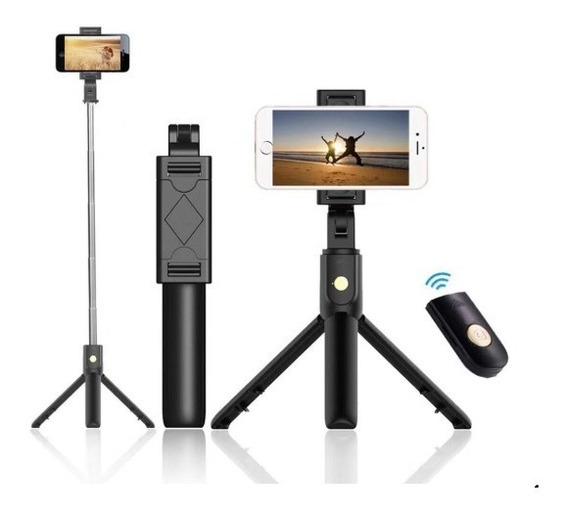 Sem Fio Bluetooth Selfie Stick Mini Tripé Monopé Extensív