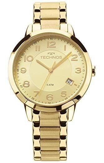 Relógio Feminino Technos Elegance Dress 2315acm/4x Dourado