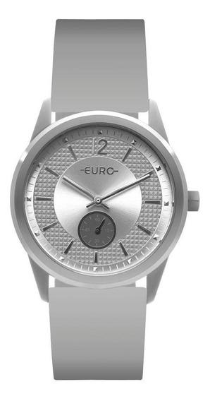 Relógio Euro Feminino Multi Basic Eyes Prata Eu1l45aa/8k