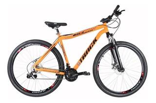 Bicicleta Track & Bikes Alumínio Tks29 21v Aro 29 Laranja