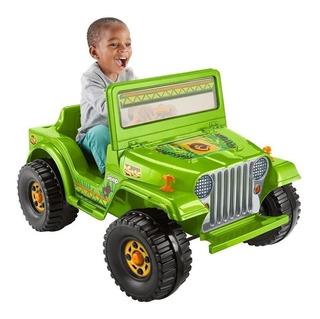 Jeep Montable Verde Montables A Bateria Para Ninos En Mercado