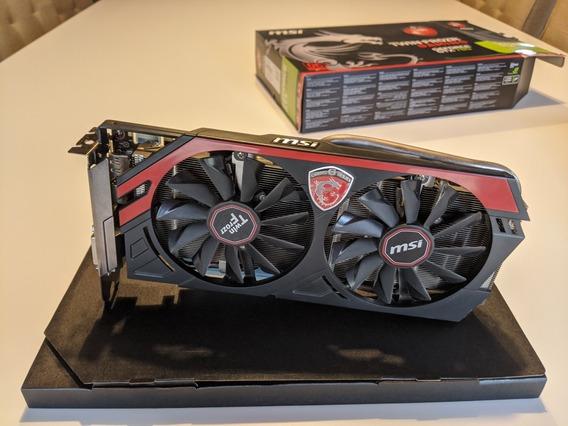 Placa De Vídeo Nvidia Msi Gtx 760 Impecable En Caja.