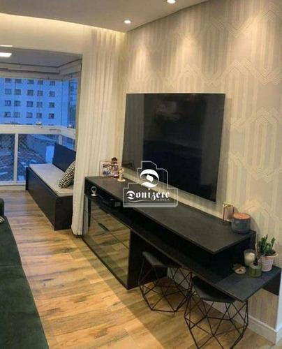 Apartamento Com 2 Dormitórios À Venda, 57 M² Por R$ 430.000,00 - Parque Das Nações - Santo André/sp - Ap16806