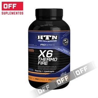 X6 Thermo Fire 240 Caps Htn Pro Series Quemador Termogenico