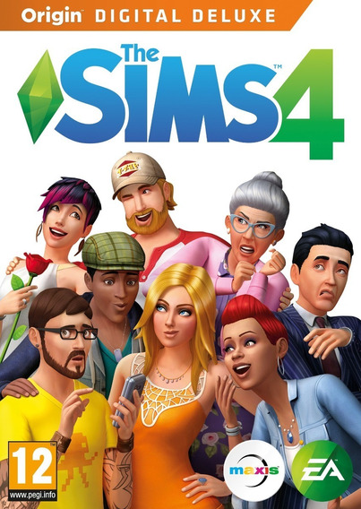 The Sims 4 Deluxe Pc Game