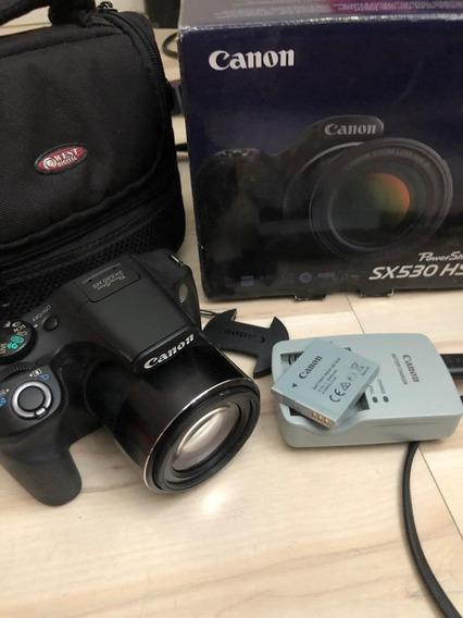 Câmera Digital Semi Profissional Canon Powershot Sx 530 Hs