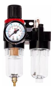 Conjunto Lubrifil-filtro Regulador+lubrificador Pneumatico