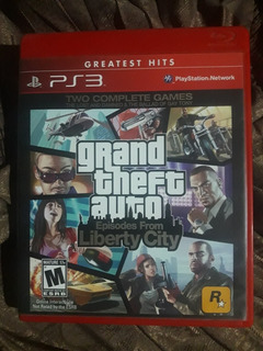 Grand Theft Auto Episodes From Liberty City Para Ps3