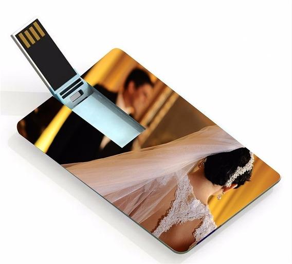 60 Pencard 8gb - Personalizado Frente E Verso P/ Fotógrafos