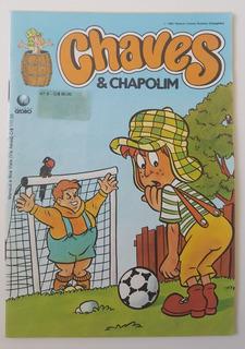 Gibi Chaves & Chapolim Nr 9 Editora Globo - 1991 -
