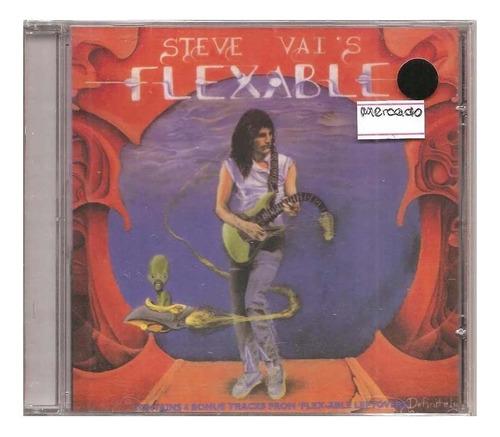 Cd  Steve Vai's - Flex-able