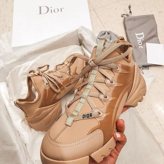 Zapatillas Christian Dior Nude