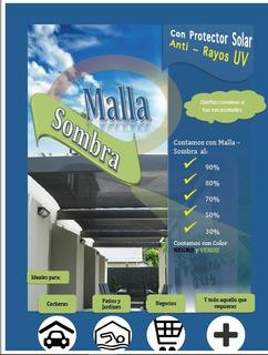Rollo Malla Sombra 80% - 1.85 X 100 Mts