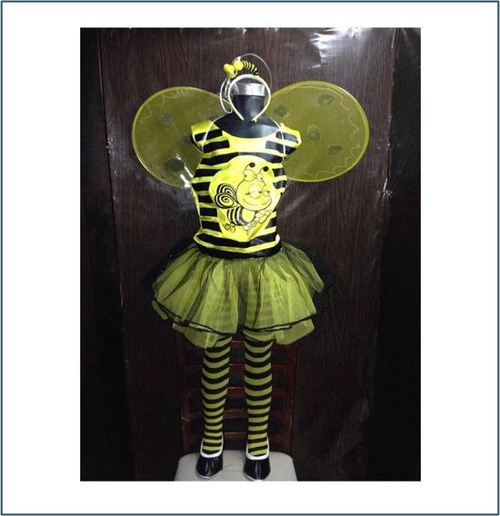 Disfraz De Abeja Para Niña Talla #4 Y 10 R