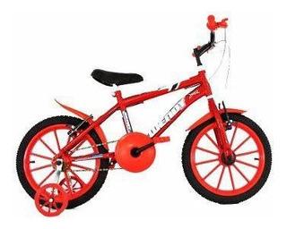 Bicicleta Aro 16 Infantil + Adesivo Brinde Frete Grátis*