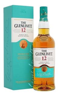 Whisky Glenlivet 12years Of Age. Single Malt Double Oak