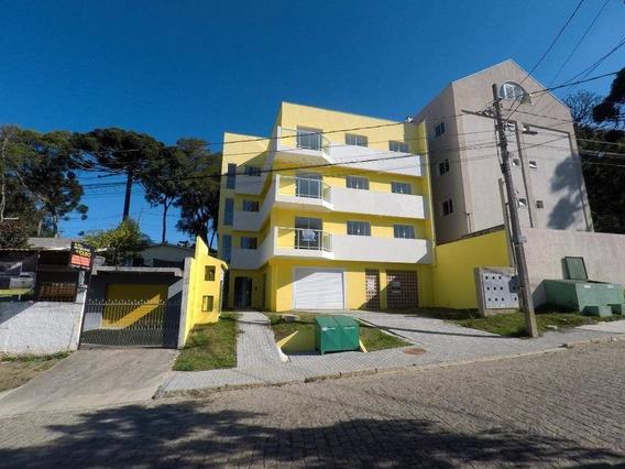 Apartamento À Venda Por R$ 205.000,00 - Jardim Orestes Thá - Quatro Barras/pr - Ap0227