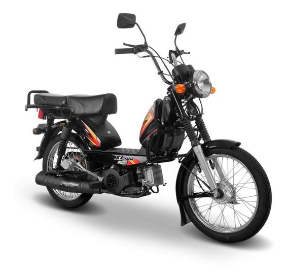 Motocicleta Tvs Xl100 Negro