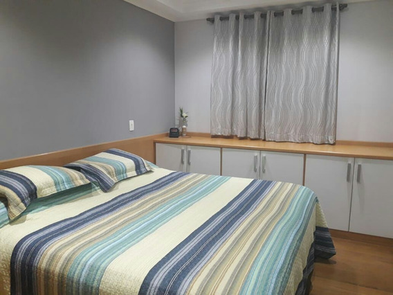Cobertura Com 3 Dormitórios E 3 Banheiros 1 Vaga