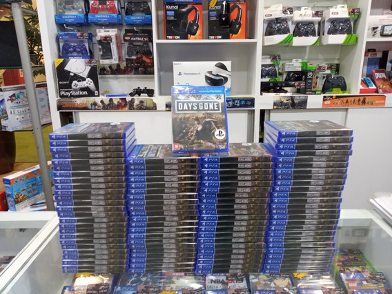 Jogo Ps4 Days Gone Playstation 4 Lacrado Portugues