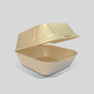 Contenedor Biodegradable Reyma® 6x6 Base De Fecula De Maiz