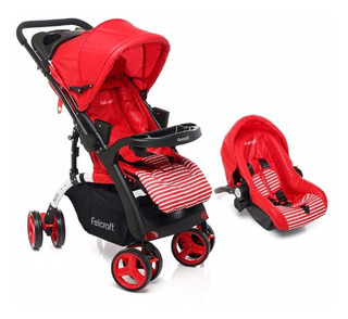 Coche Travel System Con Carrier Felcraft Bebe Sini Revatible