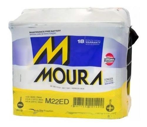 Imagen 1 de 2 de Bateria M22edd Moura 50 Amperes 12v