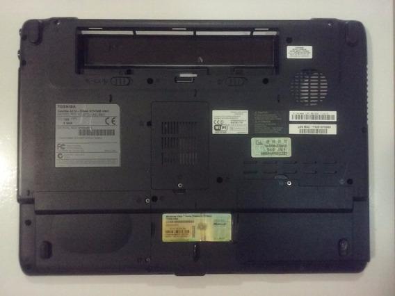 Carcaça Base Inferior Toshiba Satellite A215-s7444 Perfeita