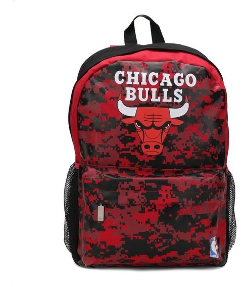 Mochila Nba Chicago Bulls, Produto Original A Pronta Entrega