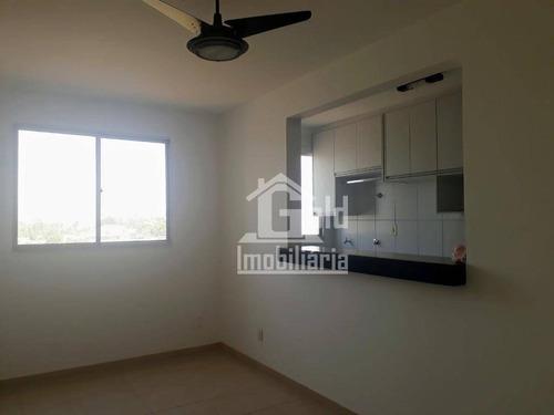 Apartamento Com 2 Dormitórios À Venda, 47 M² Por R$ 190.000,00 - Jardim Paulistano - Ribeirão Preto/sp - Ap3838